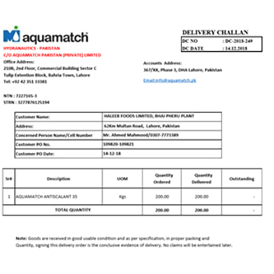 Aquamatch | Tanvir & Co